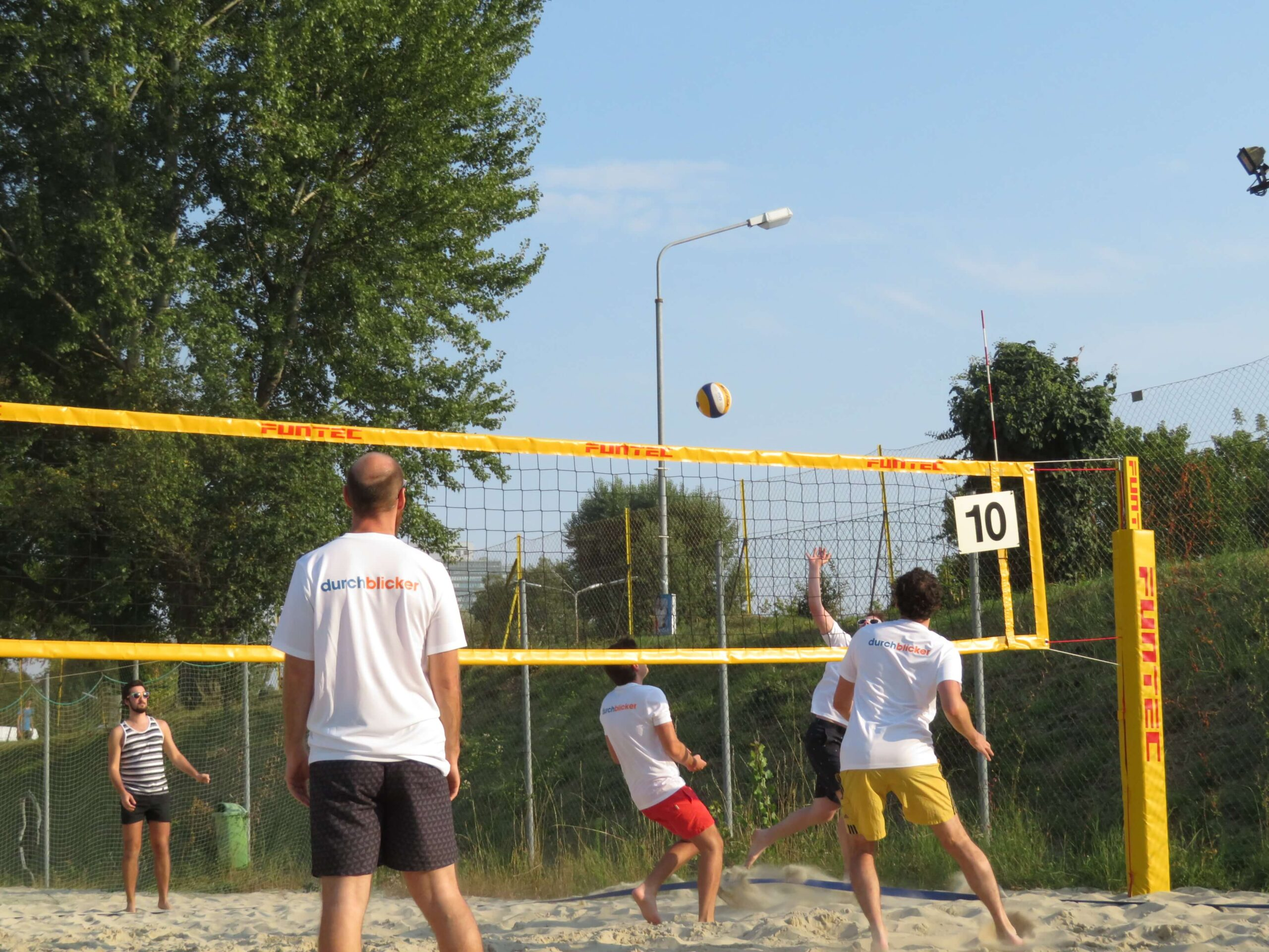 Teamevent Volleyball durchblicker