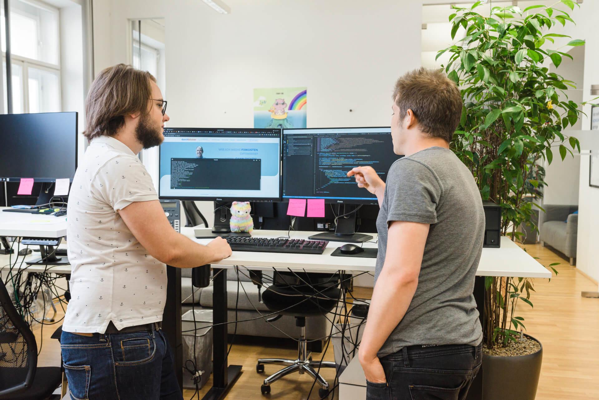 Teamwork Pair Programming durchblicker